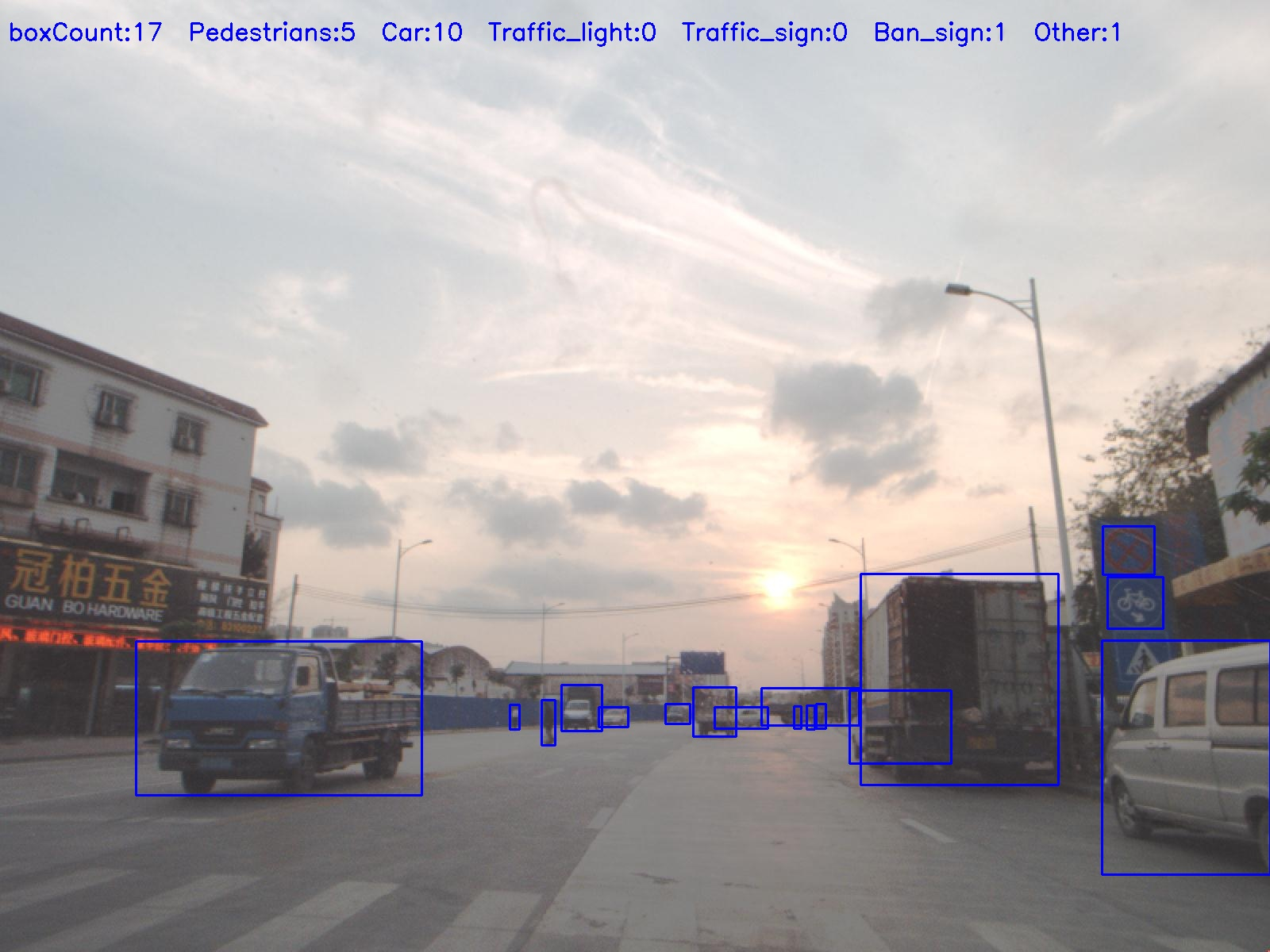 530,000 Steetview Images _530,000 Images with Bounding box Annotation_Autonomous Driving Data Solution_Datatang