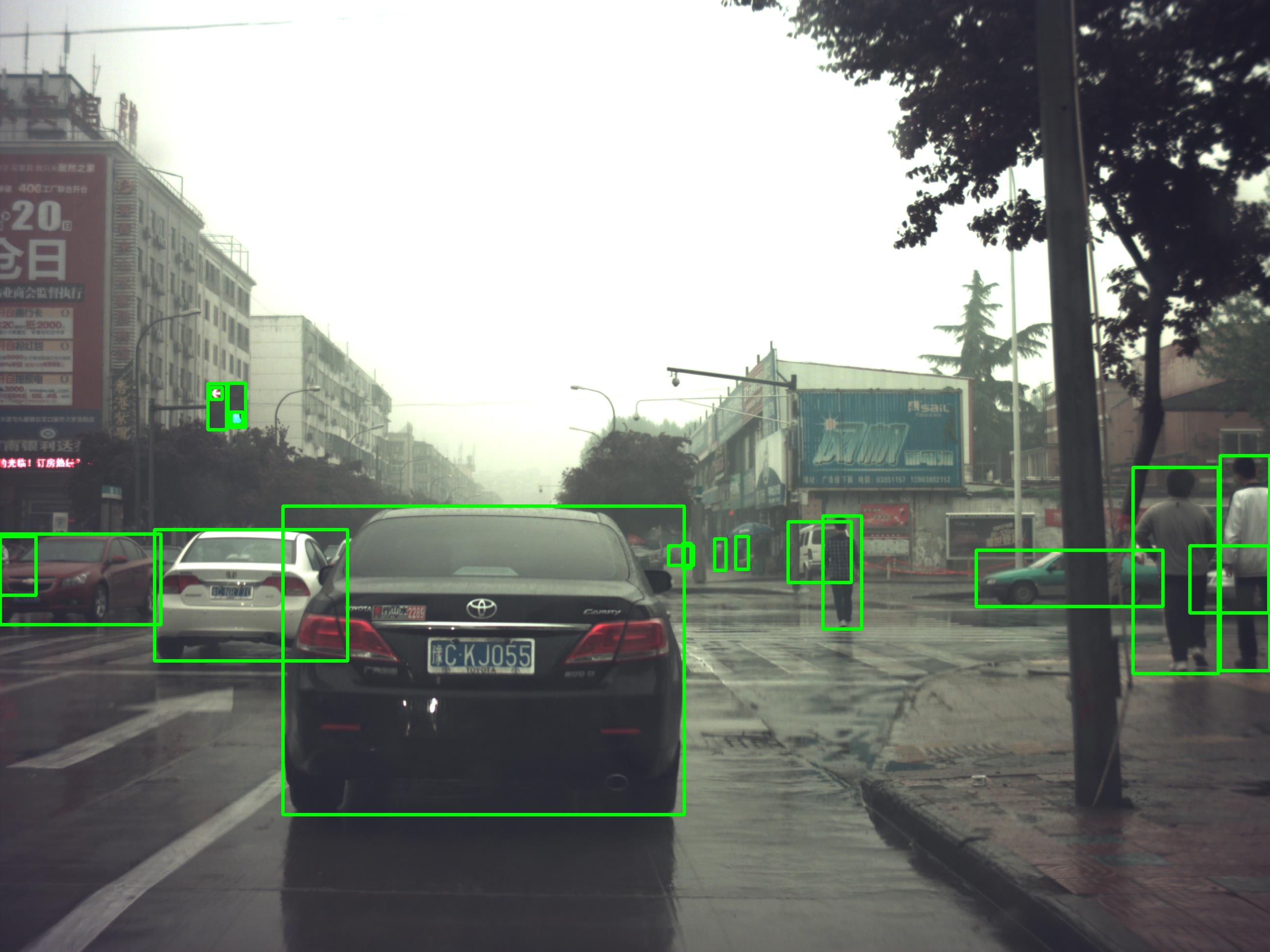 531,669 Images - 5,735,505 Bounding Boxes Object Detection Data in Street View Scenes_Autonomous Driving Data Solution_Datatang