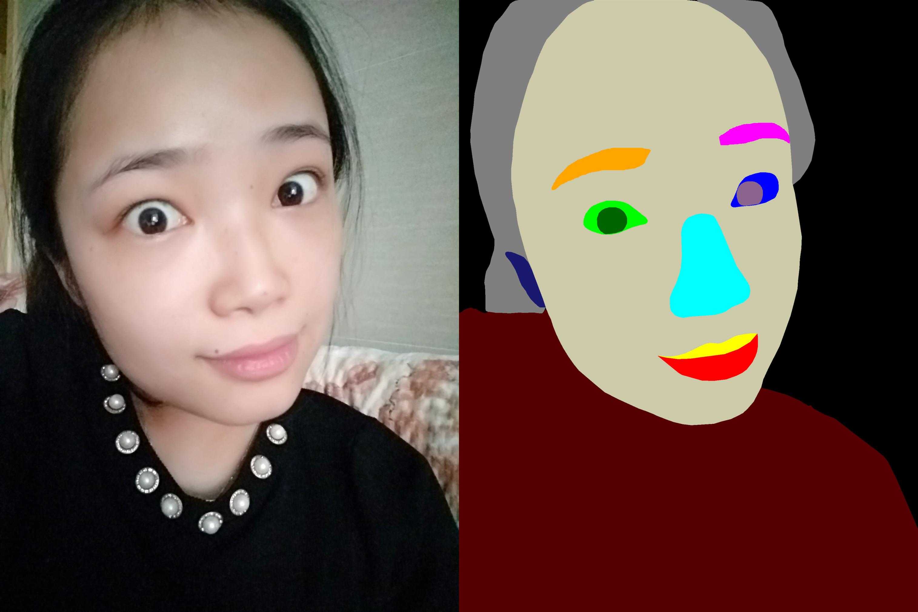 70,846 Images – Human Face Segmentation Data_Data Products_Datatang
