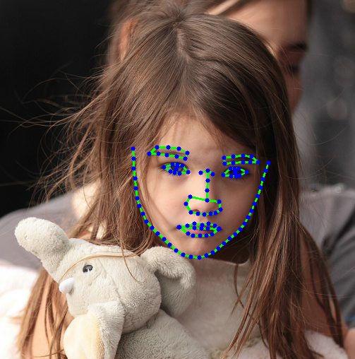 62,320 Human Face Images 106 Landmark Annotation(normal scenes)_Mobile APP Data Solution_Datatang
