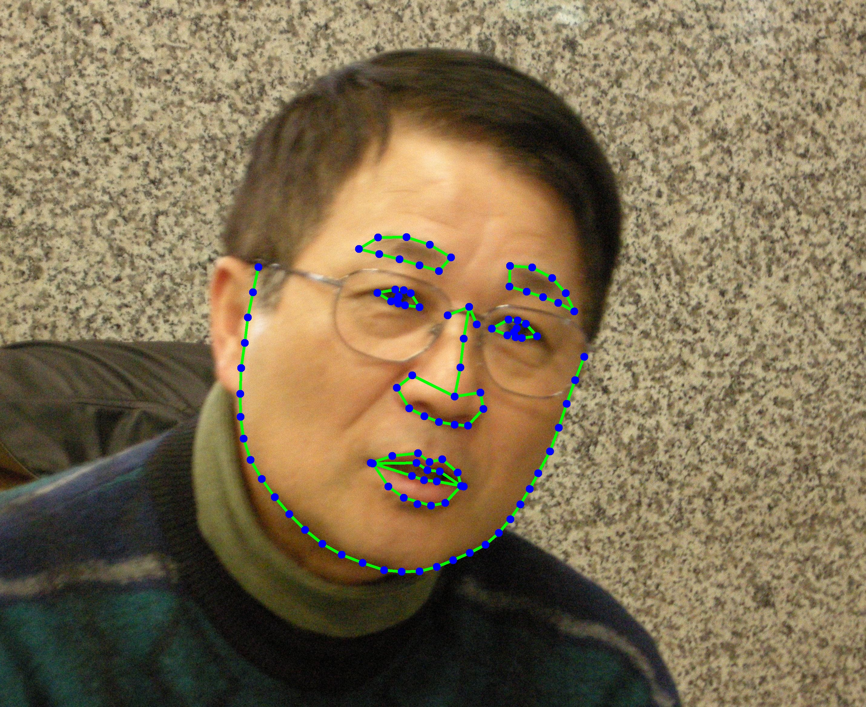62,320 Images of 106 Facial Landmarks Annotation Data_Data Products_Datatang