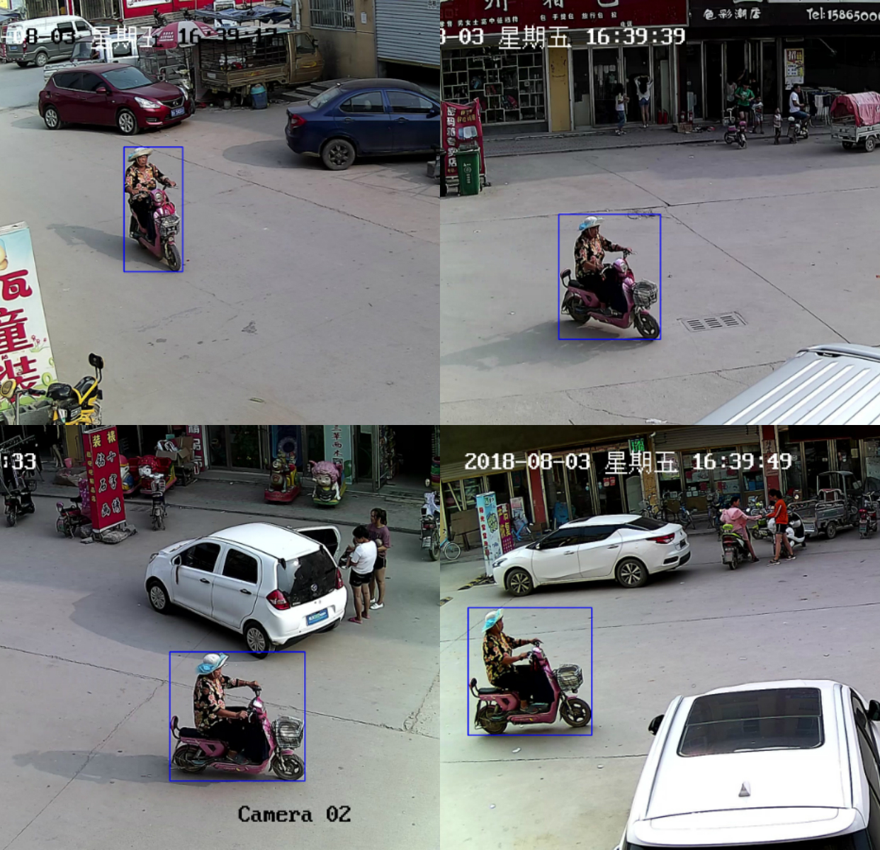 10,125 People Multi-view Tracking Data_Intelligent Security Data Solution_Datatang