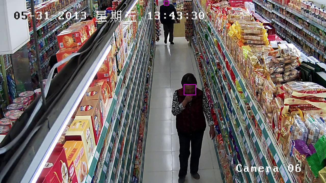 209,611 Bounding Boxes - Human Face Detection Data in Surveillance Scenes_Intelligent Security Data Solution_Datatang