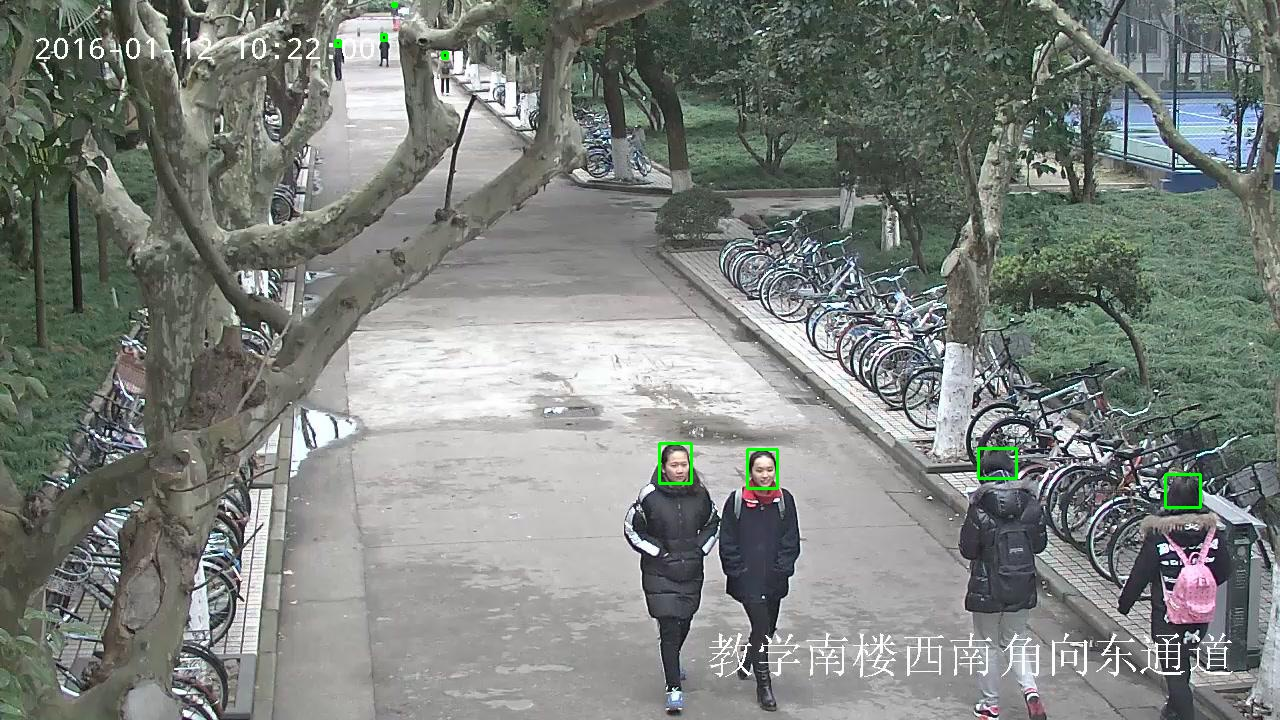 208,785 Bounding Boxes – Human Head Detection Data in Surveillance Scenes_Data Products_Datatang