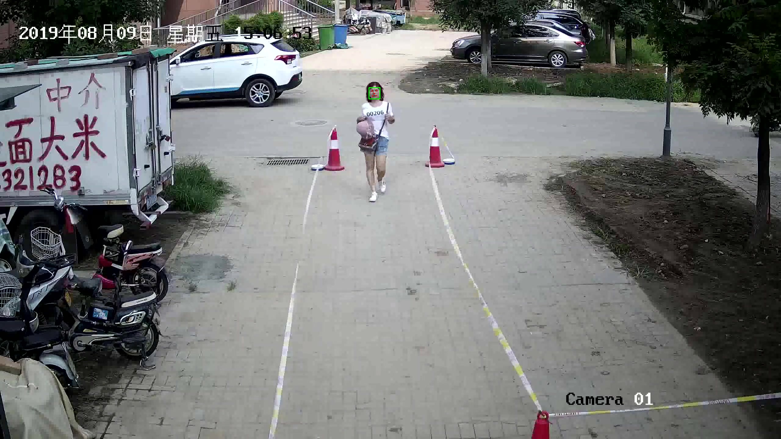 10,000 People face recognition data in surveillance scenes_Intelligent Security Data Solution_Datatang