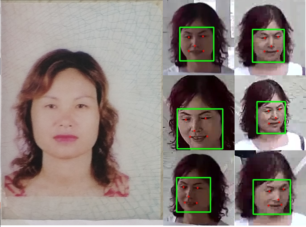 10,746 People - Human Face Recognition Data in Surveillance Scenes_Intelligent Security Data Solution_Datatang
