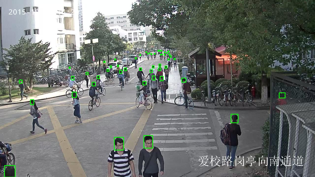 208,785 Bounding Boxes Human Head Detection in Surveillance Video Data_Intelligent Security Data Solution_Datatang