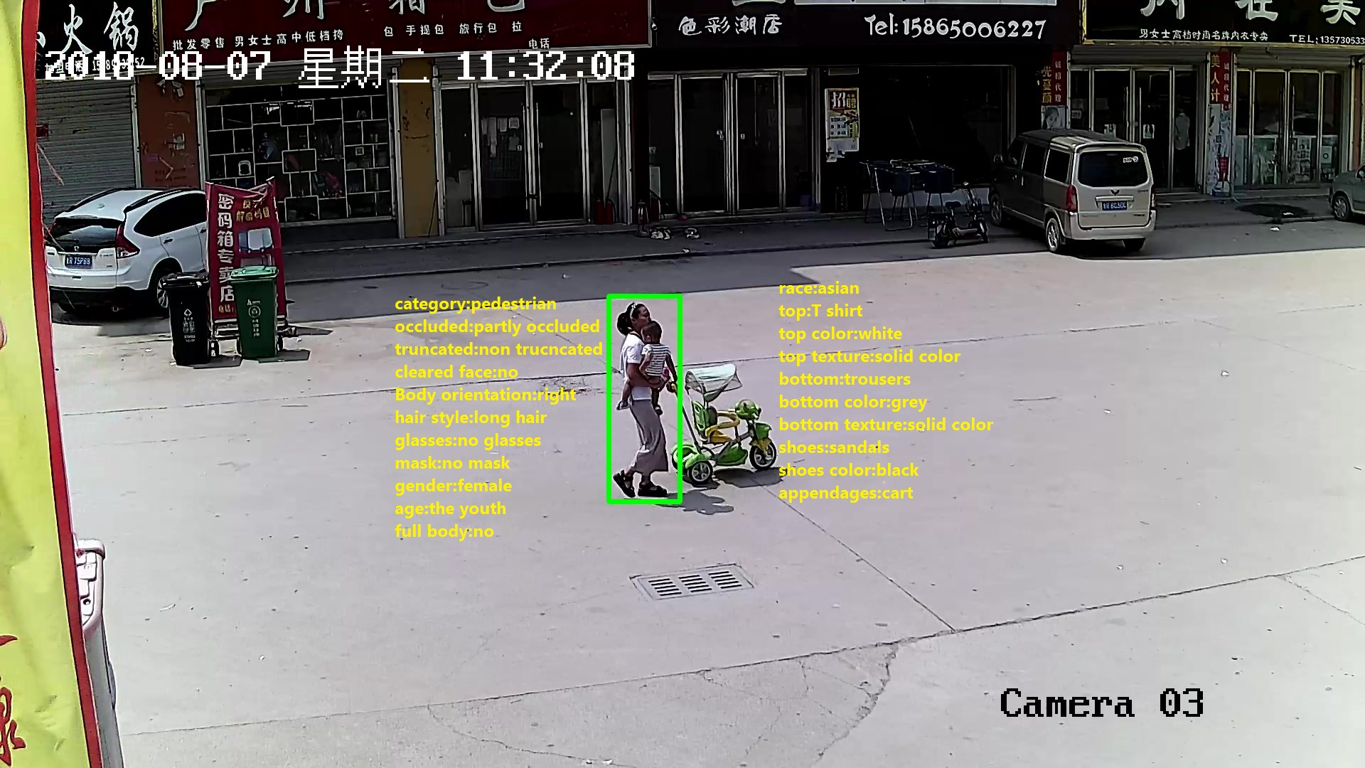 210,188 Bounding Box Human body Attributes Annotation_Data Products_Datatang